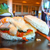 tonhal · sajt · szendvics · saláta · hal · friss - stock fotó © digoarpi