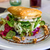 salad with goat cheese in the restaurant stock photo © digoarpi