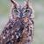 uil · oog · hout · sneeuw · vogel - stockfoto © digoarpi