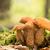 três · vermelho · cogumelos · floresta · madeira · verão - foto stock © digoarpi