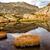 beautiful mountain lake in spain pyreness stock photo © digoarpi