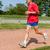 corredor · senior · treinamento · competição · primavera · grama - foto stock © digoarpi