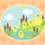 granja · pato · funny · flor · familia · primavera - foto stock © Dimpens