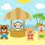 majom · sziget · fehér · tengerpart · fű · természet - stock fotó © dimpens
