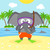 summer background with elephant stock photo © dimpens