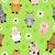 パターン · デザイン · 漫画 · 家畜 · 実例 · 装飾的な - ストックフォト © dimpens