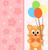 猫 · ピンク · 弓 · 実例 · 愛 · 自然 - ストックフォト © dimpens