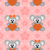 koala · flor · feliz · Cartoon · animales · romance - foto stock © dimpens