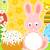 Pascua · conejo · torta · tarjeta · primavera · resumen - foto stock © Dimpens