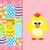 húsvéti · tojások · vicces · tyúk · rózsaszín · húsvét · kártya - stock fotó © Dimpens