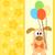 hond · patroon · Geel · naadloos · grappig · huisdieren - stockfoto © dimpens