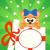 vacaciones · tarjeta · gato · vector · sonrisa · fiesta - foto stock © Dimpens