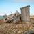 abandonado · buque · costa · destruido · paisaje · casa - foto stock © dinozzaver