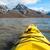 kajakozás · tenger · első · személy · kilátás · sarkköri - stock fotó © dinozzaver