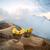 cesta · vulcão · Indonésia · natureza · fumar · lago - foto stock © dinozzaver