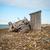 opuszczony · statku · plaży · morza · łodzi · burzy - zdjęcia stock © dinozzaver