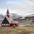 igreja · Noruega · verão · flores · edifício · jardim - foto stock © dinozzaver