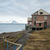 abandoned house in barentsburg russian settlement in svalbard stock photo © dinozzaver