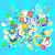 vízalatti · virágok · buborékok · absztrakt · természet · fény - stock fotó © dip