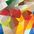 Geel · groene · abstract · mozaiek · driehoek - stockfoto © dip