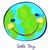terra · rosto · sorridente · 16 · simples - foto stock © dip
