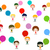 boldog · emberek · csoport · ikon · piktogram · stílus · grafikus - stock fotó © dip