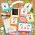 psicodélico · quadros · vetor · colorido · ilustração · rabisco - foto stock © dip