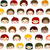 kids faces background stock photo © dip