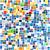 heldere · abstract · mozaiek · patroon · baksteen · textuur - stockfoto © dip