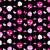 agressivo · bonitinho · preto · rosa · crânios - foto stock © dip