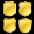 arany · terv · fém · biztonság · törvény · tábla - stock fotó © dip
