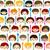 menu · crianças · faces · olhos · projeto · fundo - foto stock © dip