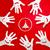 papírzsebkendő · papír · csíny · illusztráció · gyerekek · játszanak · gyerekek - stock fotó © dip