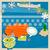 conjunto · natal · ano · novo · elementos · bonitinho · quadros - foto stock © dip