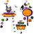 halloween funny design elements set stock photo © dip
