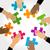 diversity hands puzzle stock photo © dip