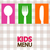 kids menu background stock photo © dip