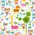 животные · милые · животные · цветы · бабочка · счастливым · дети - Сток-фото © dip