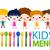 menü · çocuklar · dizayn · çocuklar · mutlu · eğitim - stok fotoğraf © dip