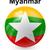 zászló · Myanmar · fehér · papír · térkép · terv - stock fotó © dip