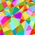 geométrico · triângulo · papel · de · parede · padrão · luz · fundo - foto stock © dip