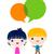 gelukkige · mensen · groep · icon · pictogram · stijl · grafische - stockfoto © dip