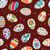set · decorato · easter · eggs · colorato · uovo · blu - foto d'archivio © dip