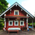 Red Log Cabin n the Forest stock photo © Discovod