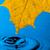 żółty · liści · kropla · wody · refleksji · wiosną · charakter - zdjęcia stock © Discovod