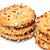 チョコレート · チップ · クッキー · ピーナッツ · 孤立した · 白 - ストックフォト © discovod