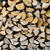 background of stacked chopped firewood logs stock photo © discovod