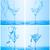 água · copo · de · vinho · azul · vidro · beber - foto stock © discovod