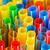 пластиковых · питьевой · вечеринка · зеленый · синий - Сток-фото © discovod