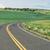 weg · glad · verkeersbord · afgelegen · bergen - stockfoto © disorderly